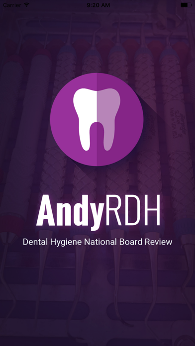 Screenshot for AndyRDH Board Review for NBDHE in United States App Store