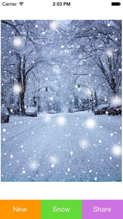 Snowing Pic screenshot-3