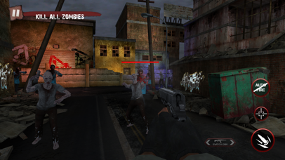 Zombie Ultimate Shooting War screenshot two