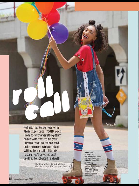 Justine (Magazine) screenshot 8