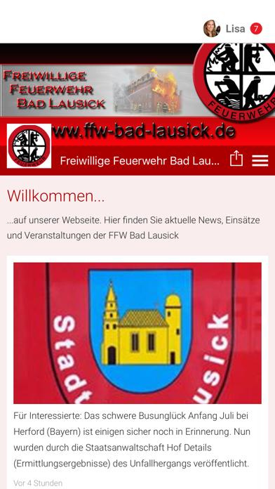 Feuerwehr Bad Lausick screenshot 1