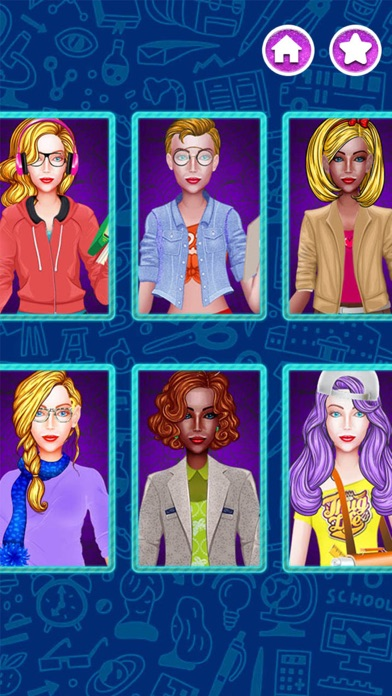 Dress Up Games College Girl screenshot two