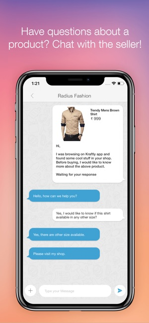 Kraftly  Shop   Sell Online on the App Store 166f3f24a9
