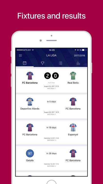 Barcelona Live: Scores & News screenshot-3