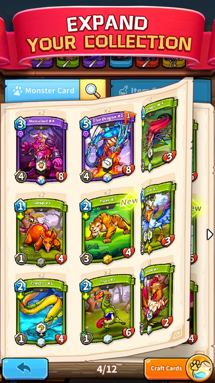Card Monsters: 3 Minute Duels screenshot-2