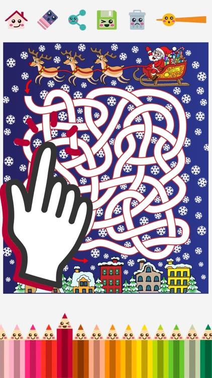 Christmas mazes & puzzle