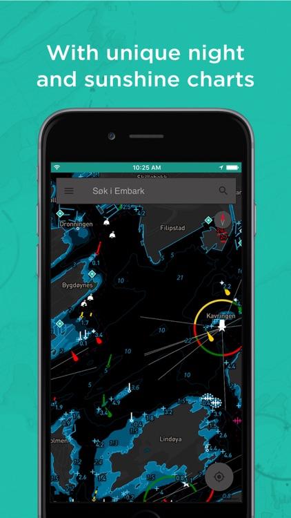 Embark: User friendly personalised nautical charts screenshot-4