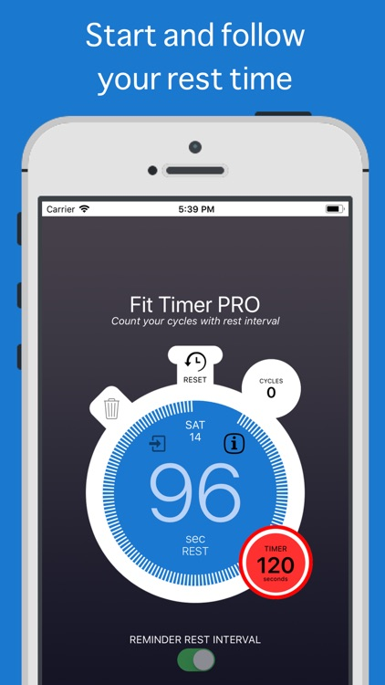 Fit Timer PRO screenshot-1