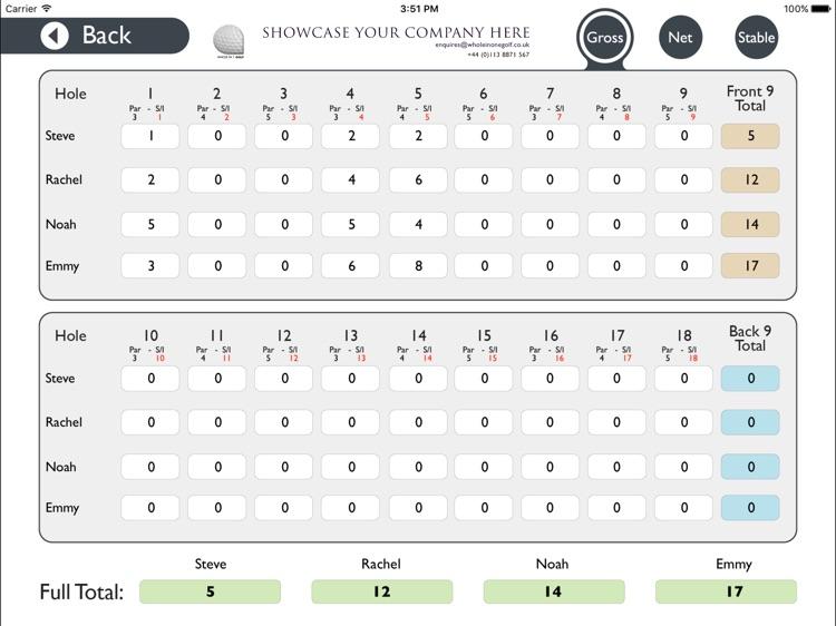 Wirral Golf Club - Buggy screenshot-3