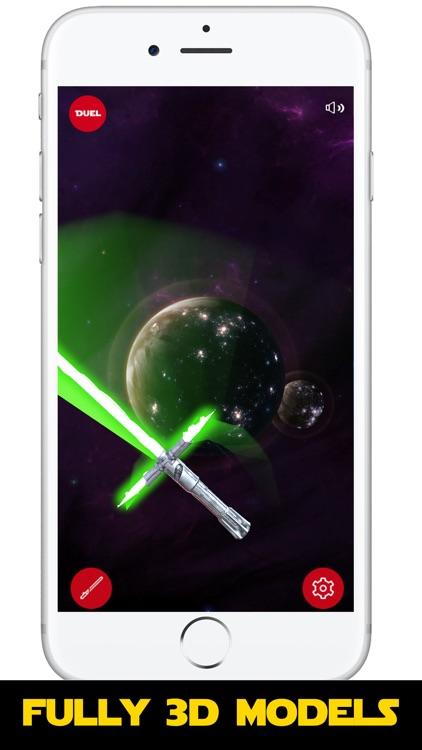 Lightsaber Battle Duel 3D screenshot-0