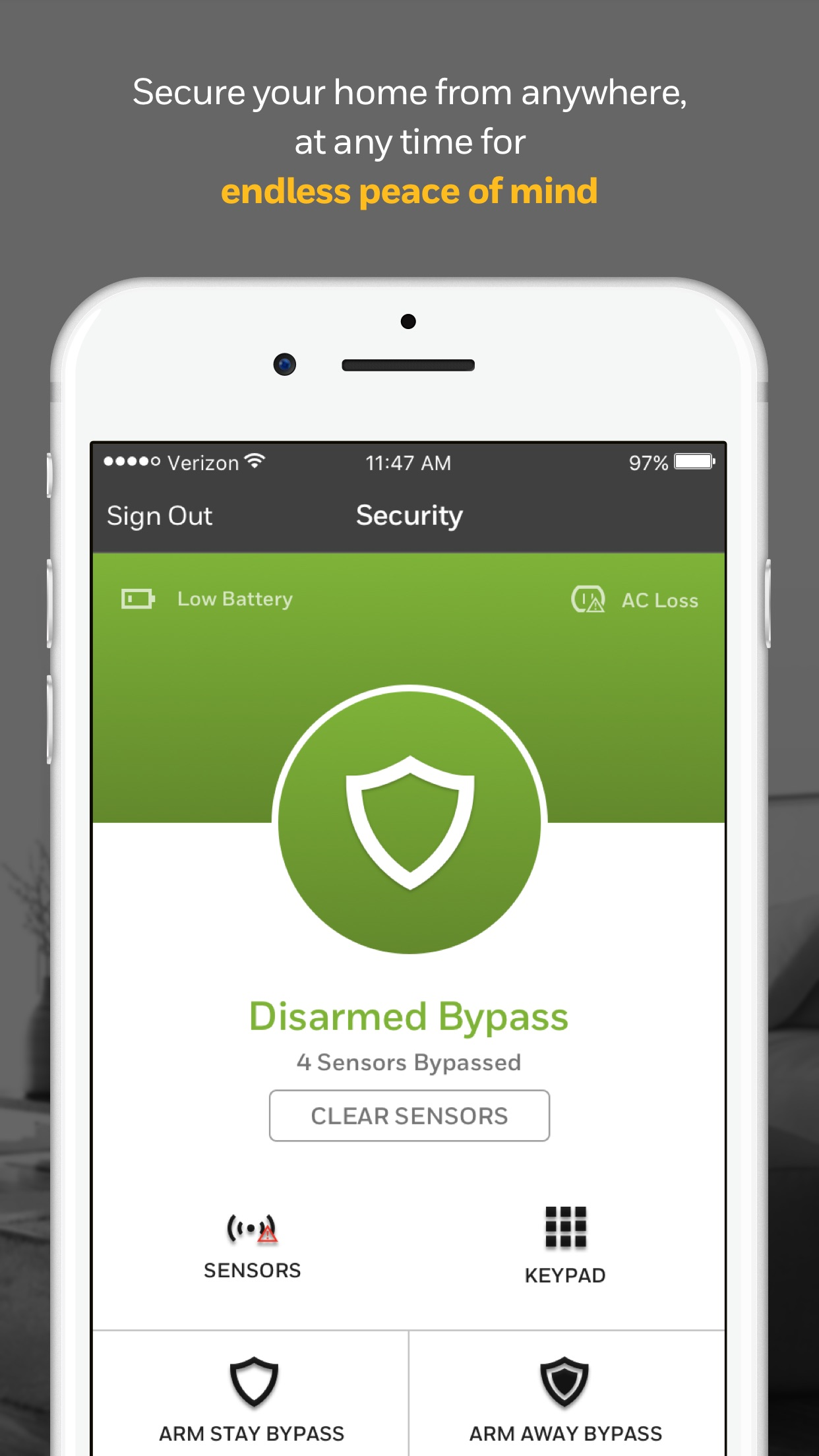 Total Connect 2.0 Screenshot