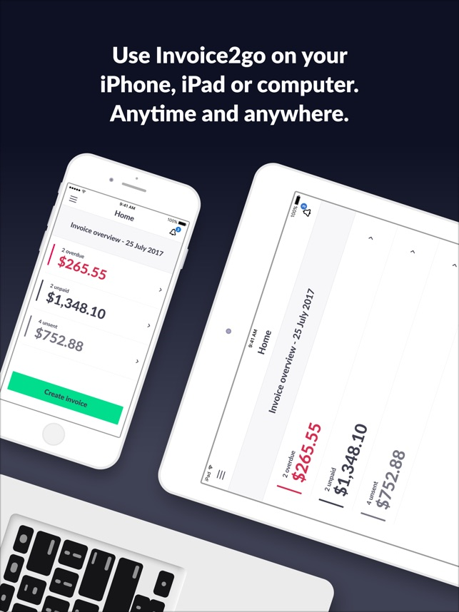 Invoice Go Invoice Estimate On The App Store - Invoice en espanol