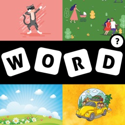 Four Pictures One Word