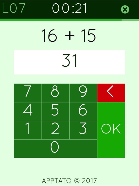 Сложение математика игра 2 для iPad