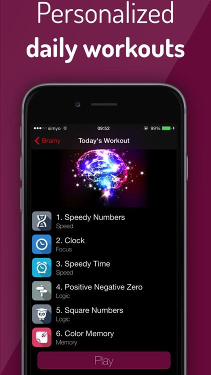 Brain Challenge: Brain Trainer screenshot-4