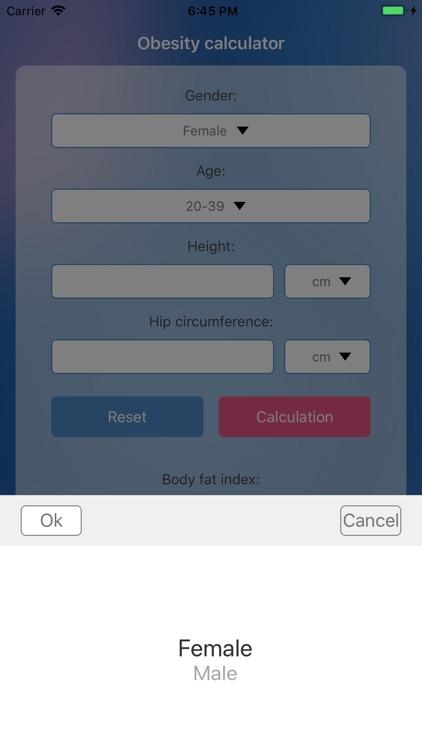 Obesity calculator by Jaleesa Plaza