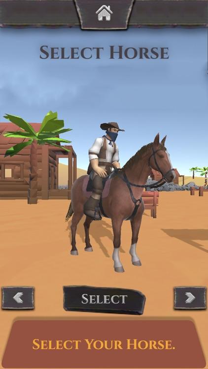 Wild West - Horse Chase Games screenshot-3