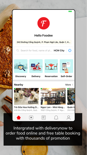 Foody Find Reserve Delivery On The App Store - Table reserve app