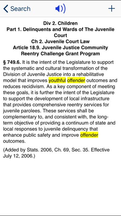 CA Welfare & Institutions Code screenshot three