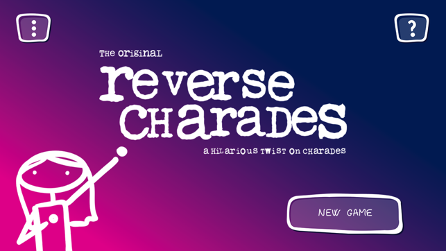 Reverse Charades on the App Store