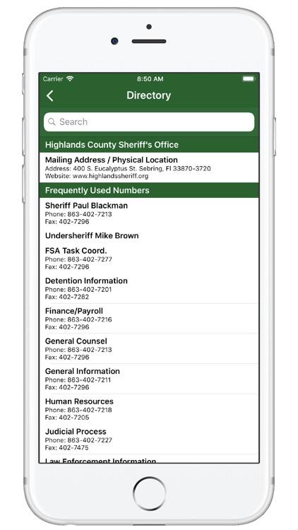 Highlands County Sheriff FL screenshot-3