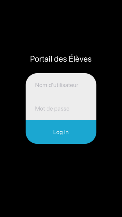 Portail des Élèves screenshot one