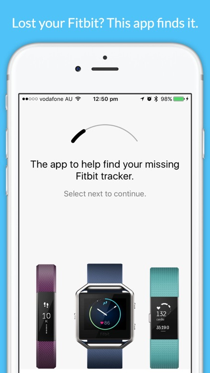 Finder for Fitbit