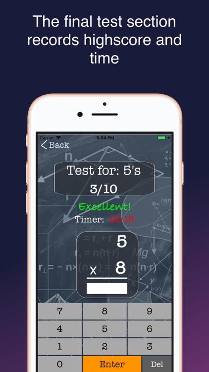 MyMultiMath - Learn Math Fast! screenshot-3