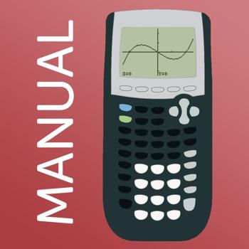 TI 84 Graphing Calculator Man. Logo