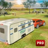露营车模拟器:汽车拖车驾驶考试 3D