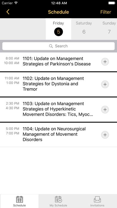 MDS Congress screenshot three