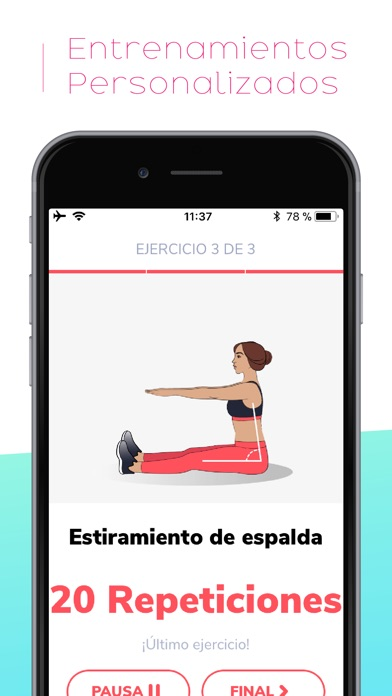 Screenshot for BetterMe: Ejercicios in Ecuador App Store