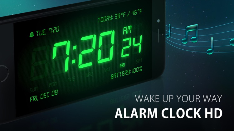 Alarm Clock HD screenshot-0