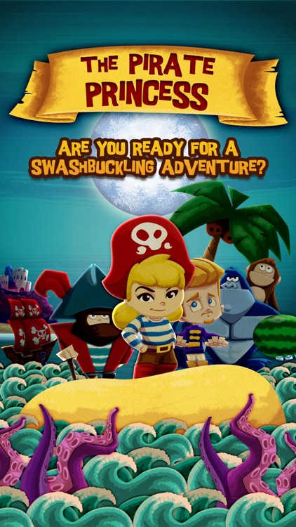 The Pirate Princess ~ 3D Pop-up Book screenshot-0