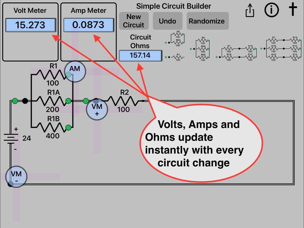 Simple Circuit Builder - Wiring Diagrams •