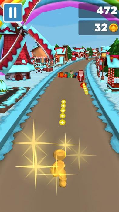 3Dクリスマスジンジャーブレッドランのおすすめ画像1