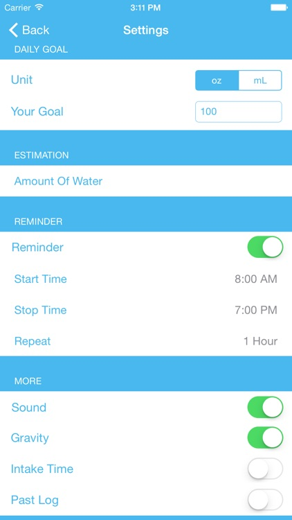 Water Tracker & Reminder Pro screenshot-3