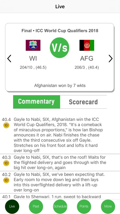 Cricket Live Full Score IPL 11 screenshot-1
