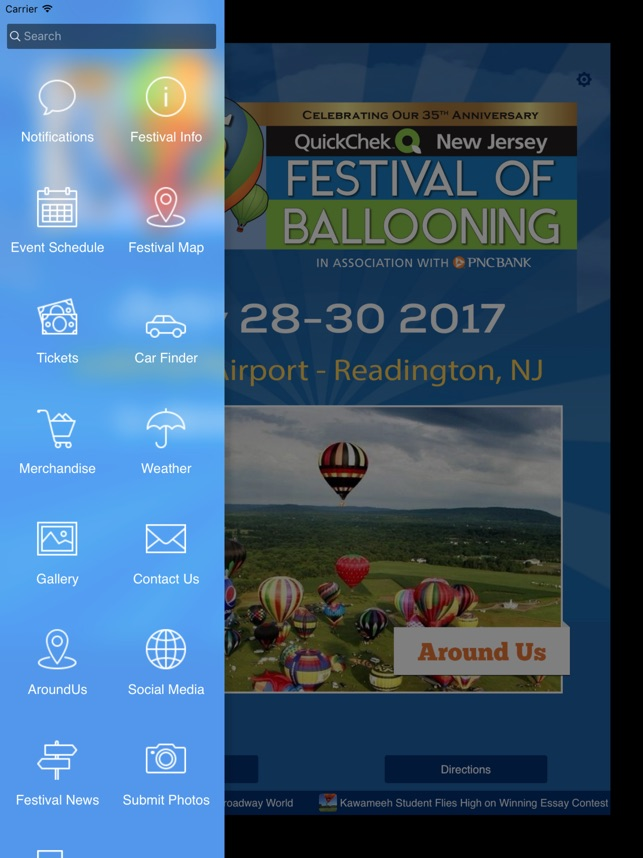 QuickChek NJ Balloon Festival on the