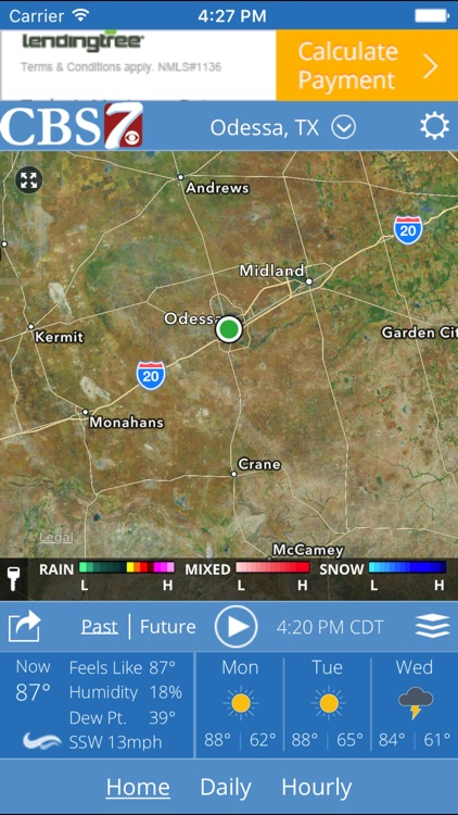 CBS 7 Radar screenshot-0