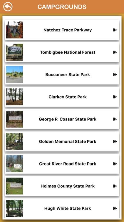 Mississippi National Parks