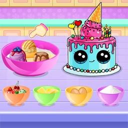 Ice Cream Cake Baker Sweet