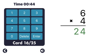 Screenshot #8 for MathEdge Multiplication