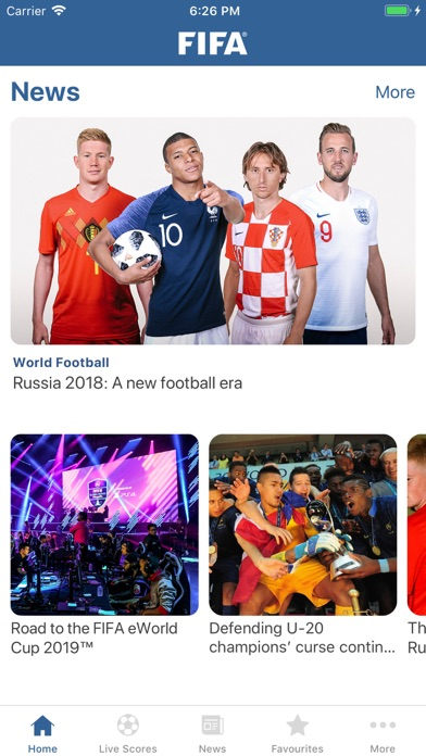 download FIFA - Soccer News & Scores