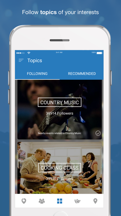 Nearify - Discover Events by Nearify (iOS, United States
