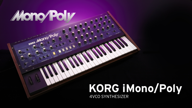 KORG iMono/Poly Screenshot