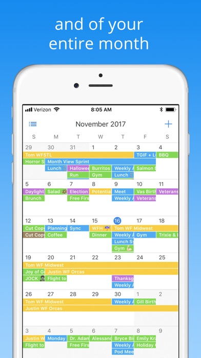 Pod Calendar Screenshot