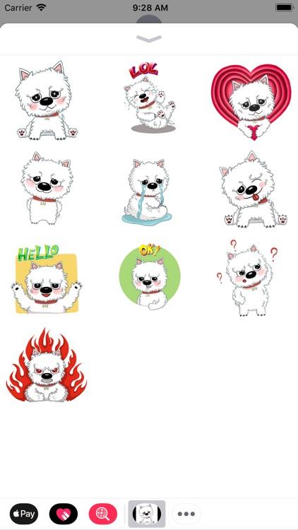 Westie stickers pack