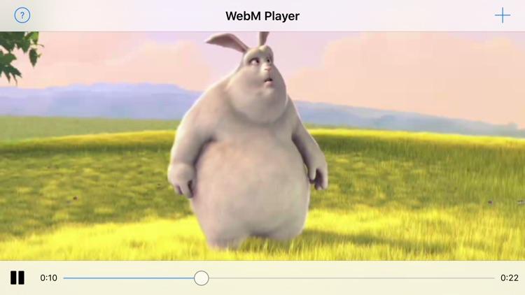 WebM Player Extension