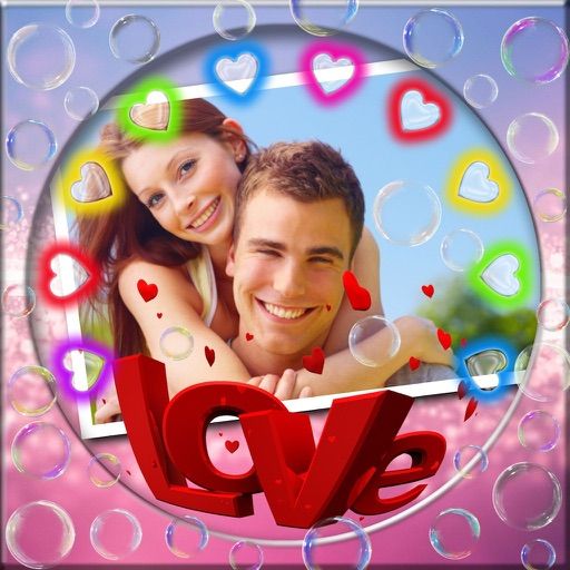 Love Messages Photo Frames